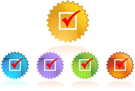 checklist: Checklist Stars Illustration