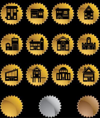 duplex: Building Gold Stars Illustration