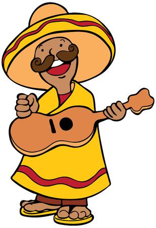 Mexican Guitar Art