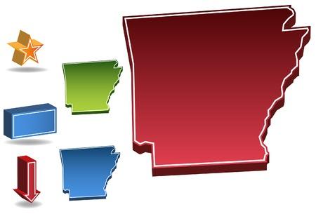 Arkansas State Vector