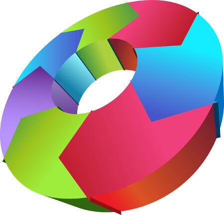 Process Chart Ilustração