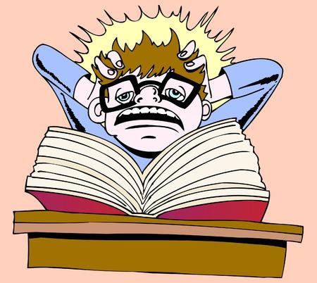 deberes: frustraci�n de la tarea