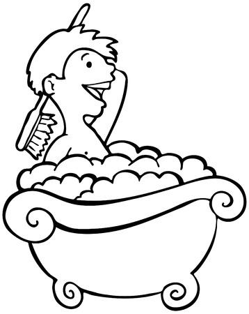 bathing: Kid Bathing