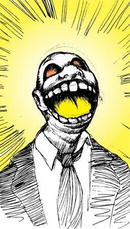 scream 向量圖像