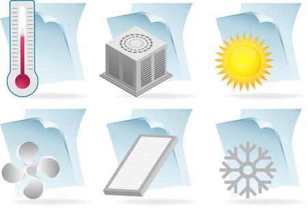 aire acondicionado: documento de aire acondicionado