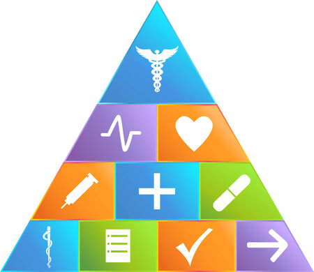 Medical Pyramid Vector