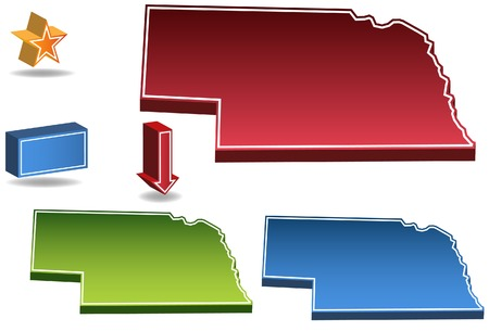 Nebraska State Vector