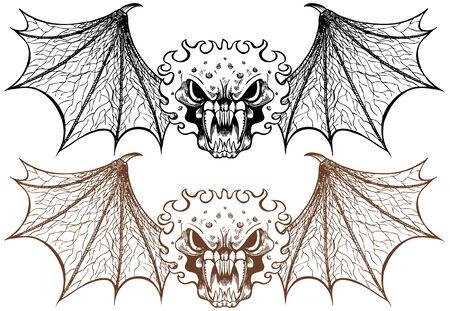 Wing Demon Standard-Bild - 5358958