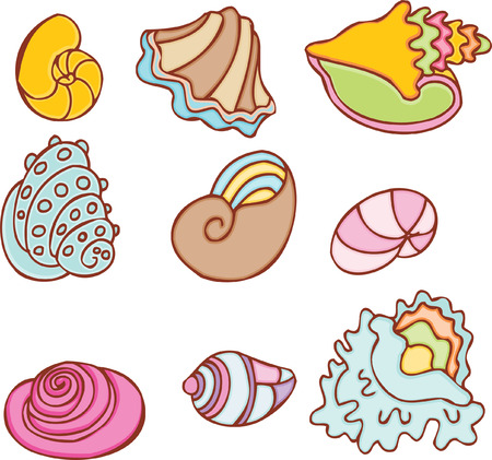 shell set Ilustrace