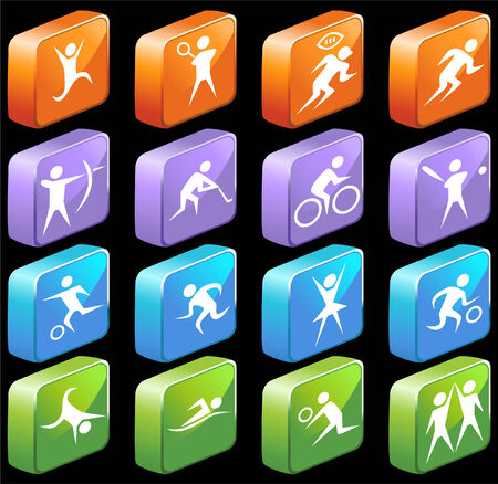 sports set Stock Vector - 5359030