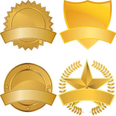 Shield Set Vector