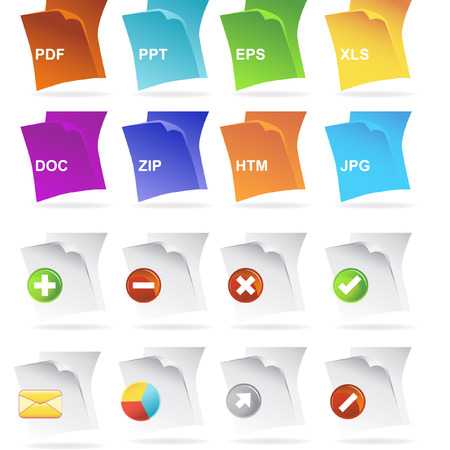 file type: Document File Type Icons