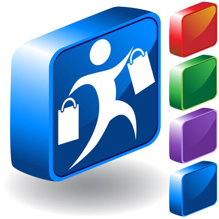 Shopping 3D Icon