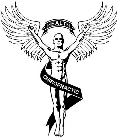 chiropractic icon Stock Vector - 5398934