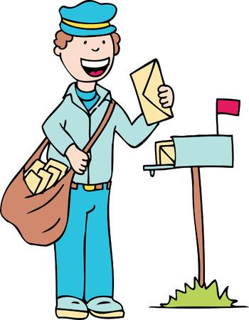 mail man: hombre de correo electr�nico