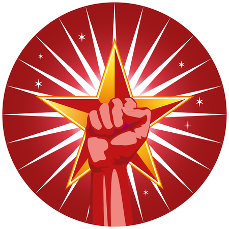 freedom fist Ilustração