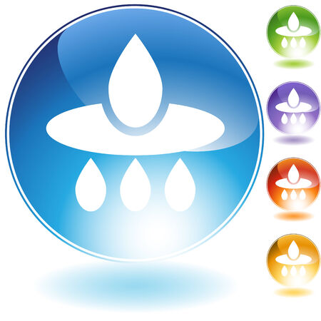 Water Filter Icon Ilustrace