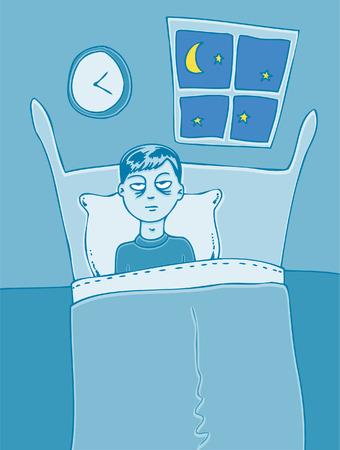 restless: Insomnia Illustration