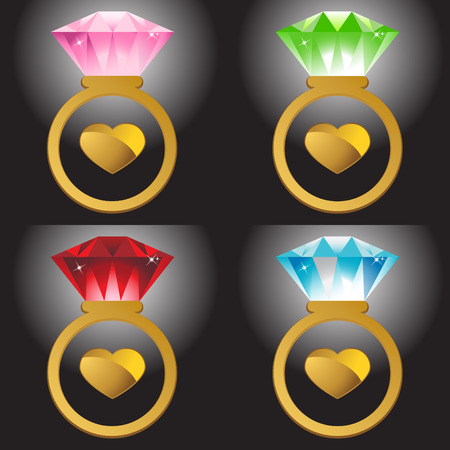Ring Set Vector