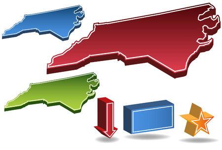 North Carolina State Vector
