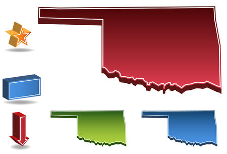 Oklahoma State Vector