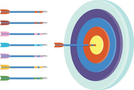 target arrow set