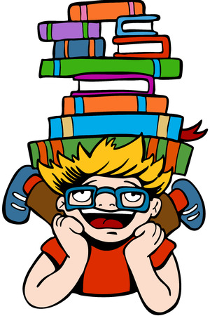 smart kid: Book Reader Kid