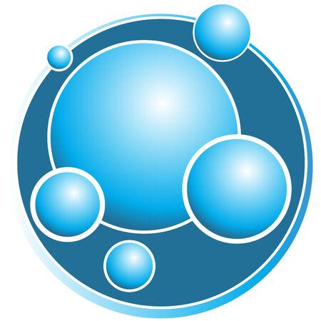 bubble sphere icon
