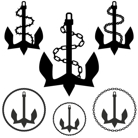 circular chain: anchor set