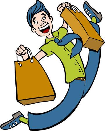 spree: Shopping Spree Man