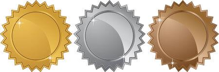 starbursts: estrellas de metales aislados en un fondo blanco.