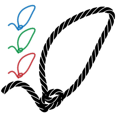 lasso rope icon isolated on a white background.