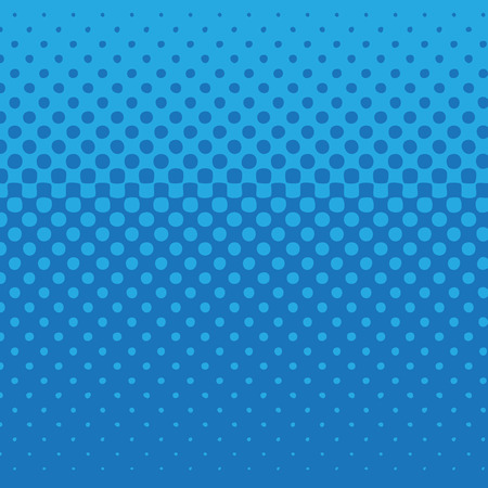 linear halftone tone background blue with dot pattern. Vector