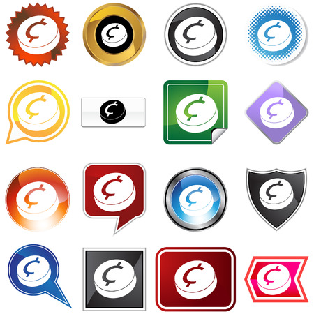 Change  icon set isolated on a white background. Vector