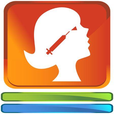 ボツリヌス毒素  イラスト・ベクター素材