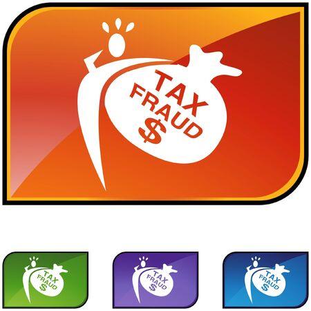 Tax Fraud Stock Vector - 6830696