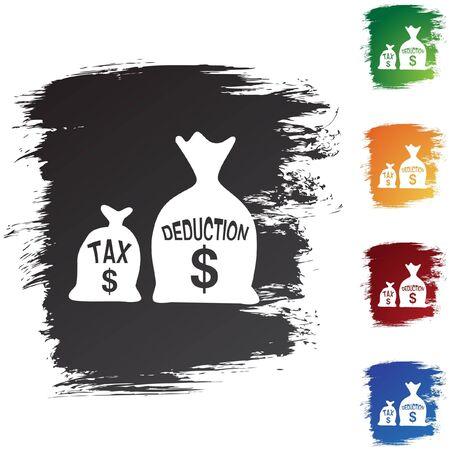 Tax Deduction Иллюстрация