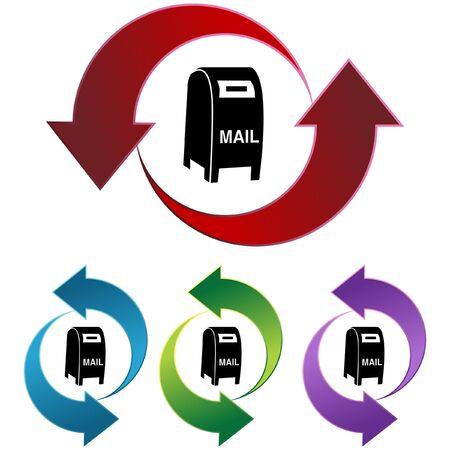 Mailbox Stock Vector - 6830454