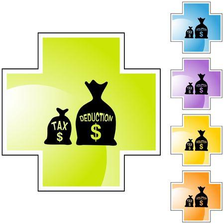 Tax Deduction Ilustracja