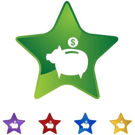 Coin Bank  イラスト・ベクター素材