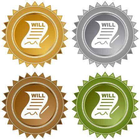 will: Signed Will Illustration