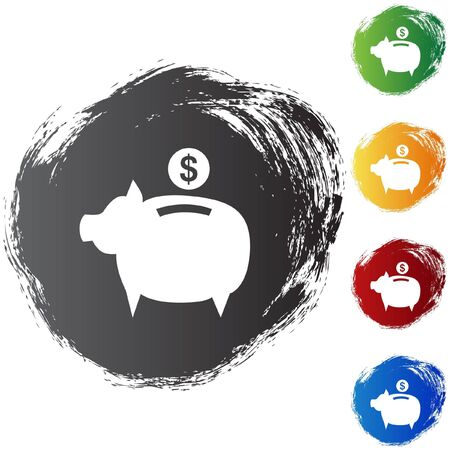 Coin Bank Illustration