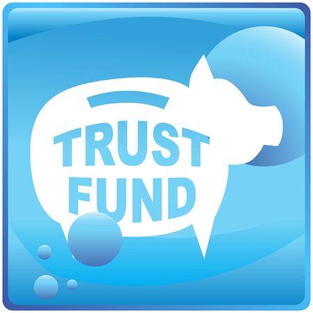 Trust fonds Stock Illustratie
