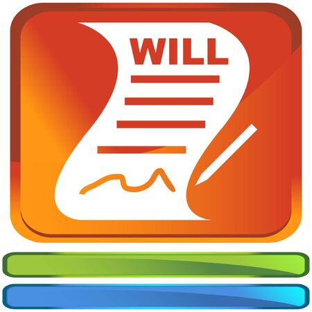 Signed Will Stock Vector - 6831285