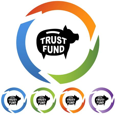 Trust Fund 向量圖像