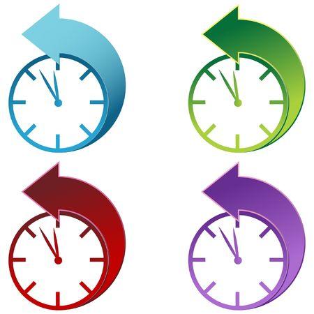 Daylight Savings Time Clock