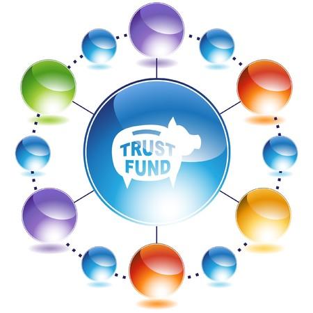fund: Trust Fund Stock Photo