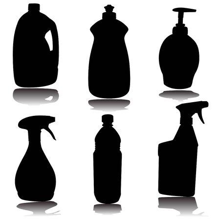dishwashing liquid: Container Set