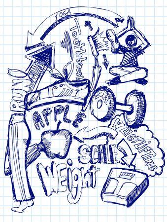 Gezondheid Doodle