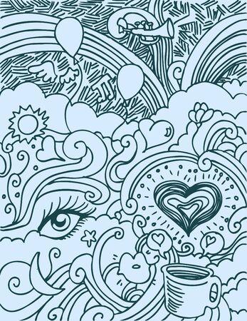 Liefde doodle